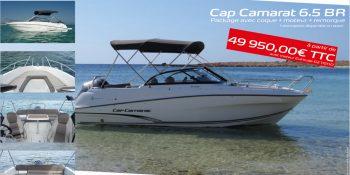 Les vacances au pays à bord de votre Cap Camarat 6.5BR
